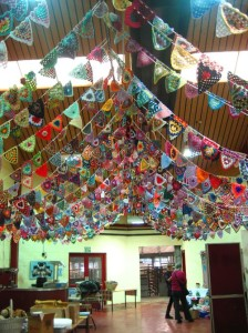 Beautiful Crochet Bunting from Attic 24